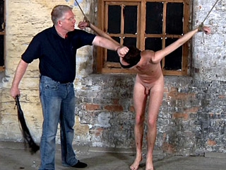 Naughty Straight Boy Gets Flogged and Spanked